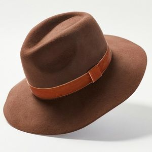 Urban Outfitters Felt Panama Hat - Brown